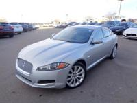 This Jaguar XF has a dependable Supercharged Gas V6