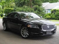 CARFAX One-Owner. Clean CARFAX. Black 2013 Jaguar XJ