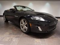 **CERTIFIED** This 2013 Jaguar XK is offered in Ebony