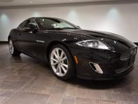 **CERTIFIED** This 2013 Jaguar XK Touring Coupe is