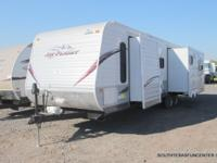 Made use of '13 Jayco Jay Flight 33RLDS, triple slide,