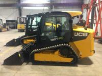 Skid Steers Track. 2013 JCB 190T Cab-Heat-A/C High Flow
