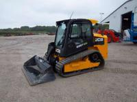 2013 JCB 225T SIVERS-HILLSBORO 198 HRS CAB W/ HEAT AND