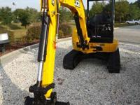 2013 JCB 8030ZTS 8030 MINI EX Cab and Controls