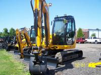 2013 JCB 8085ZTS 2013 JCB 8085 MINI EXCAVATOR Some jobs