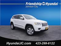 Bright White Clearcoat 2013 Jeep Grand Cherokee Laredo