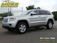 Bright Silver Metallic 2013 Jeep Grand Cherokee Laredo