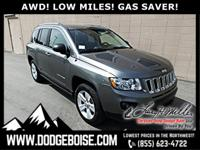 *** 4WD *** GAS SAVER **** LOW MILES **** HEATED SEATS
