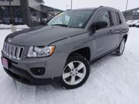 Options:  2013 Jeep Compass Latitude|Gray|Priced Below