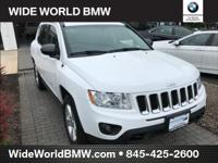 CARFAX One-Owner. Bright White Clearcoat 2013 Jeep