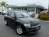 New Price! Clean CARFAX. Black Clearcoat 2013 Jeep
