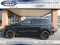 2013 Jeep Grand Cherokee. Brilliant Black Black