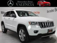 New Price! Clean CARFAX. White 2013 Jeep Grand Cherokee