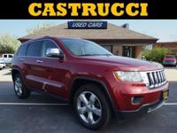 Recent Arrival! CARFAX One-Owner.   Red 2013 Jeep Grand