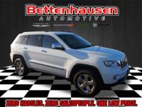 Options:  2013 Jeep Grand Cherokee Limited|White|Heated