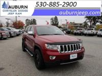 ONE OWNER, TOWING PACKAGE, 4WD! This 2013 Jeep Grand