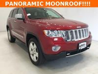 Options:  2013 Jeep Grand Cherokee Overland|Red|****