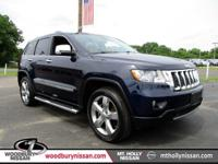 CARFAX One-Owner. True Blue Pearlcoat 2013 Jeep Grand