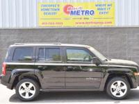 Black Clearcoat 2013 Jeep Patriot Latitude 4x4!!! 4WD