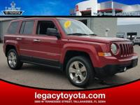 4WD, Cloth. 2013 Jeep Patriot Latitude RedAwards:* 2013