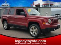 4WD, Cloth. 2013 Jeep Patriot Latitude RedAwards:* 2013