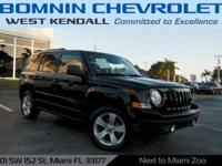 Options:  2013 Jeep Patriot Latitude|Black|2013 Jeep
