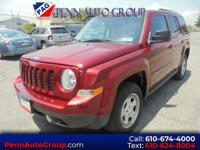 Red 2013 Jeep Patriot Sport 4WD 5-Speed 2.4L I4 DOHC