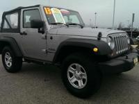 Jeep Certified, GREAT MILES 20,144! Sport trim. 4x4,