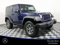 Clean CARFAX. Blue 2013 Jeep Wrangler Rubicon 4WD