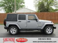 UNLIMITED SAHARA**4x4**1-OWNER**CLEAN CARFAX**3.6L V6