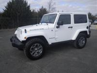 This Rubicon has less than 26k miles! 4 Wheel Drive