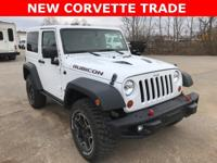 Bright White Clearcoat 2013 Jeep Wrangler Rubicon 4WD