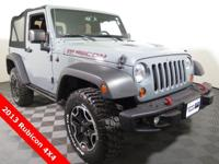 2013 Jeep Wrangler Rubicon 4X4 with a 3.6L V6 Engine.