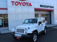 Wh 2013 Jeep Wrangler Sahara 4WD 5-Speed Automatic 3.6L