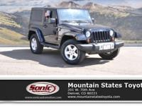 Look at this 2013 Jeep Wrangler Sahara. Its Automatic