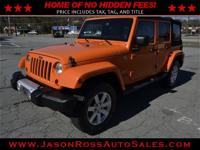 Beautiful 2013 jeep wrangler unlimited sahara 4x4 with