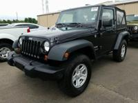 Black 2013 Jeep Wrangler Sport 4WD 6-Speed Manual 3.6L