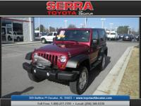 4WD! SoftTop! Serra Toyota of Decatur is pleased to