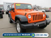 Step into the 2013 Jeep Wrangler! A comfortable ride in