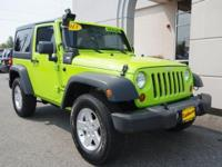 2013 JEEP WRANGLER 4X4 HARD TOP ONE OWNER PERFECT
