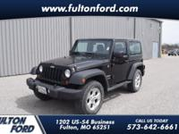 Black Clearcoat 2013 Jeep Wrangler Sport 4WD 5-Speed