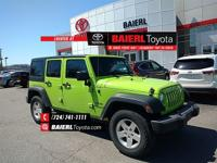 CARFAX One-Owner. Clean CARFAX. Pearl 2013 Jeep
