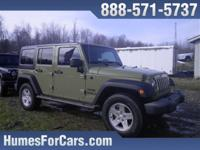 Checkout this Humes 2013 Commando Green Jeep Wrangler