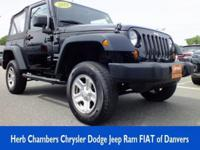 Jeep Certified, GREAT MILES 50,121! Sport trim. REDUCED