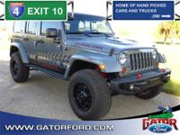 2013 Jeep Wrangler Unlimited Rubicon with GPS