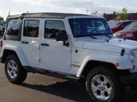 - -1-OWNER WRANGLER UNIMITED SAHARA WITH ONLY 16,330