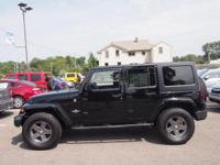 CARFAX One-Owner. Clean CARFAX. Black 2013 Jeep