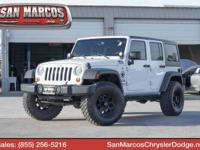 Scores 21 Highway MPG and 16 City MPG! This Jeep