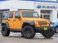 ***** RUGGED WRANGLER RUBICON 4X4 ***** This 2013 Jeep