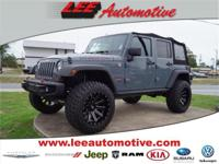 Test drive this 2013 Jeep Wrangler Unlimited located at
